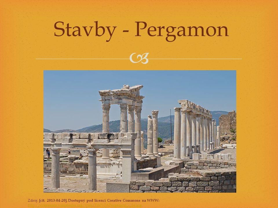 Stavby - Pergamon Zdroj: [cit. 2013-04-20].